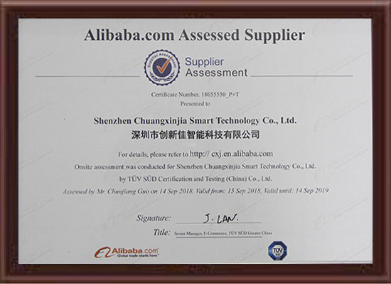 Alibaba Assessed Supplier