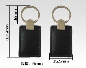 leather rfid key fobs