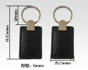 leather rfid key fobs