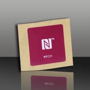 on metal NFC tags