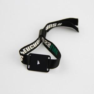 RFID fabric festival bracelets