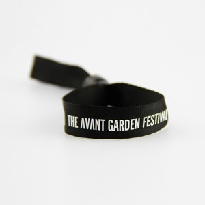 RFID festival woven wristbands