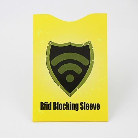 RFID blocking passport protector