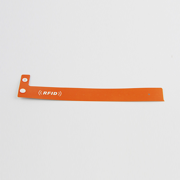 paper rfid single use wristbands with wet inlay