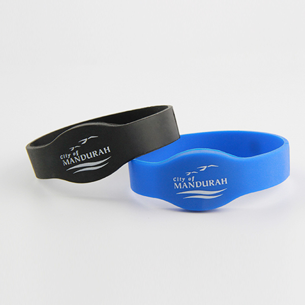 personalized rfid silicone wristband for access