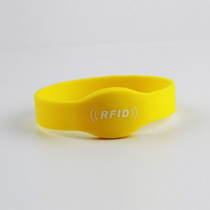 rfid silicone bracelets