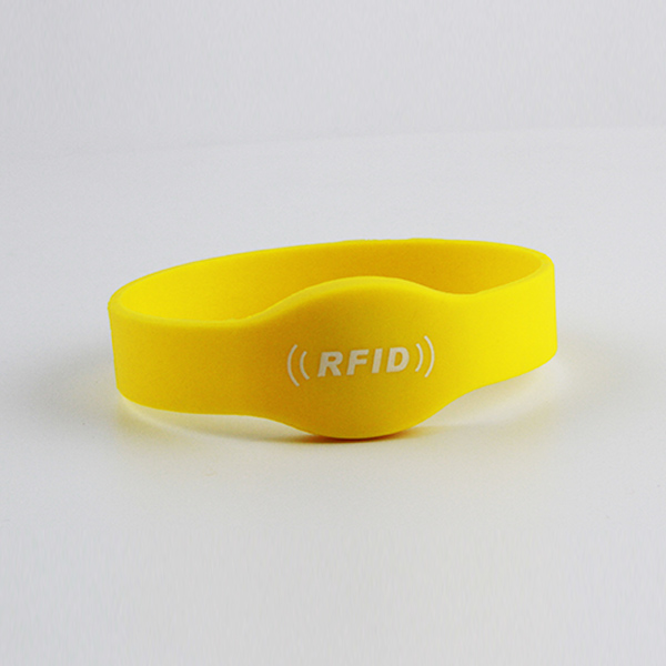 cheap custom rfid silicone bracelets with chip