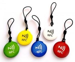 RFID epoxy key tag