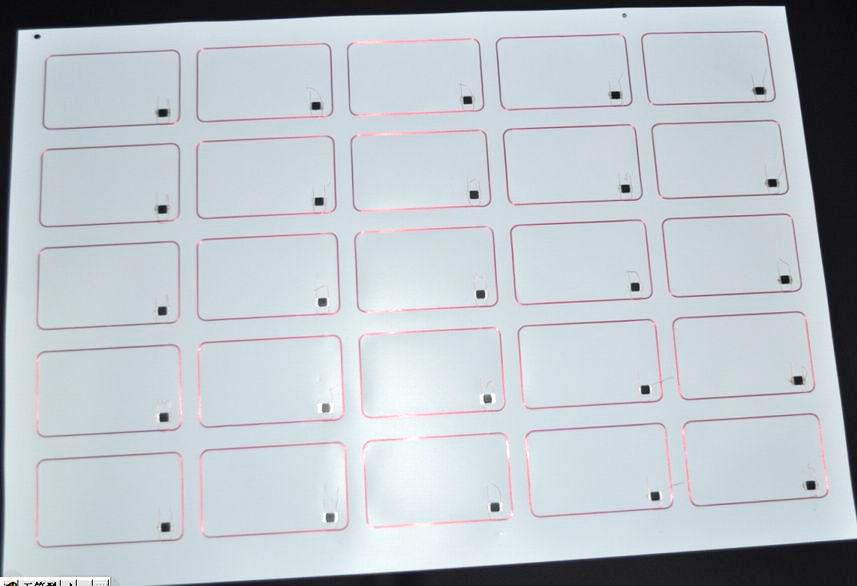 RFID Inlay Sheet