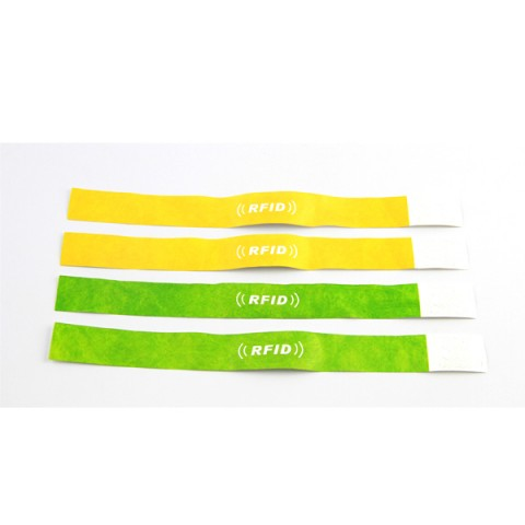 disposable RFID Paper Wristband