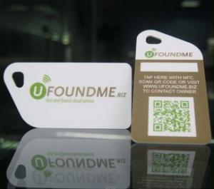 RFID pvc key tags