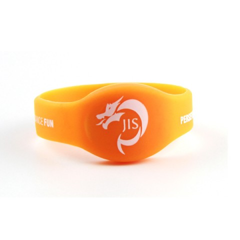 Custom Silicone nfc enabled wristband