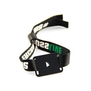 NTAG 213 fabric NFC wristbands