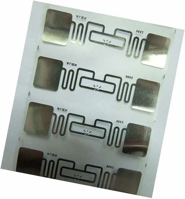 RFID UHF Inlay,Library RFID paper sticker