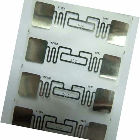 RFID UHF Inlay,Library RFID paper sticker