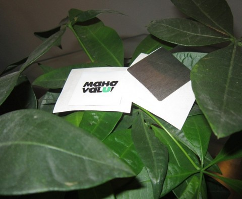 Anti-Metal paper sticker
