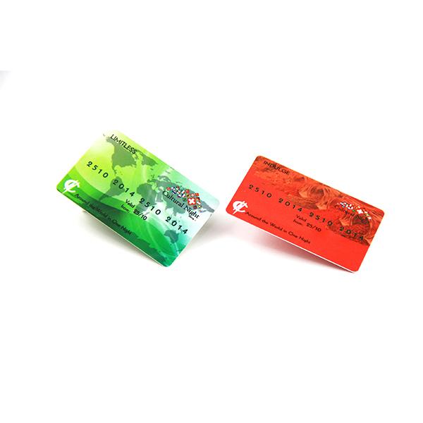 nfc plastic card