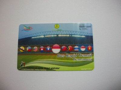 Indonesia Bus Card