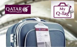 Qatar baggage tags