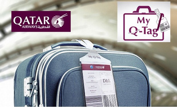 Qatar baggage tags