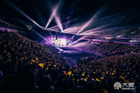 RFID technology is applied to the BIGBANG concert