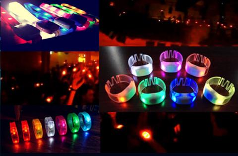 RFID event wristbands