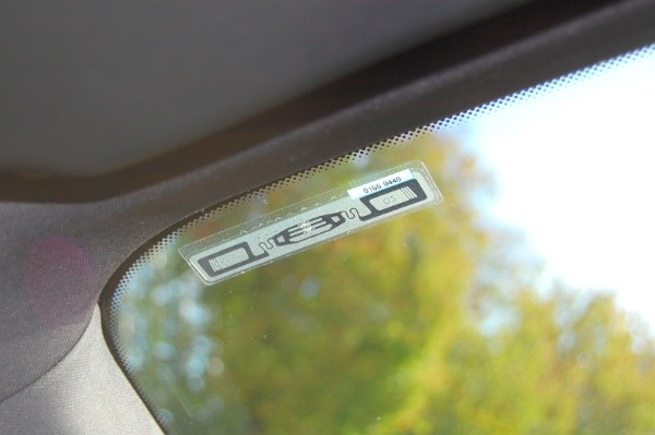 RFID-vehicle-tag