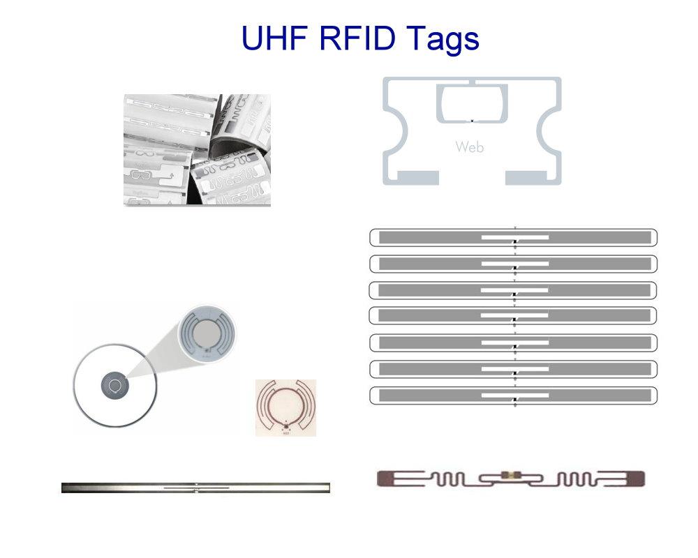 UHF RFID label