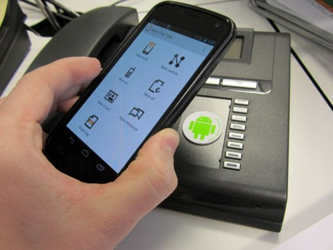 use of NFC tag