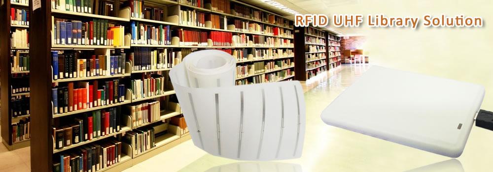 RFID library tag