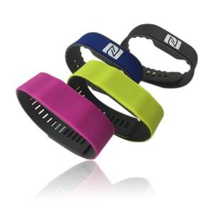 RFID silicone bracelet