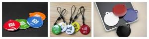RFID epoxy keyfob tag