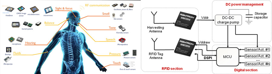 "Internet of Everything"" including MEMS and RFID tag"