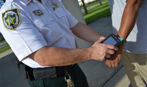 RFID wristband locato