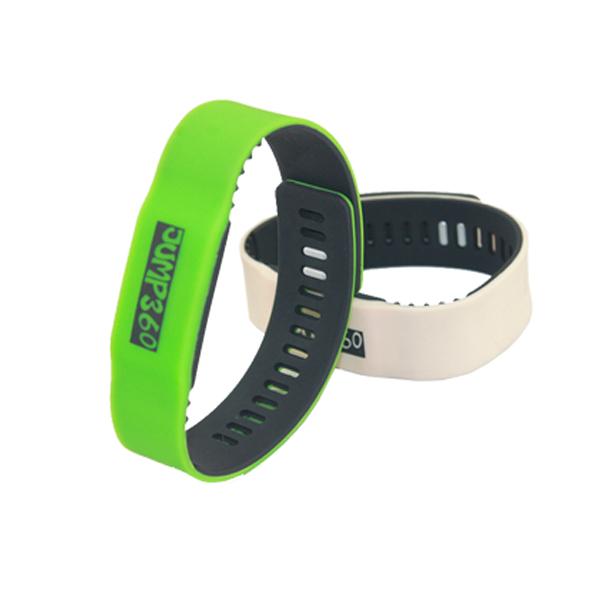 rfid slicone wristband