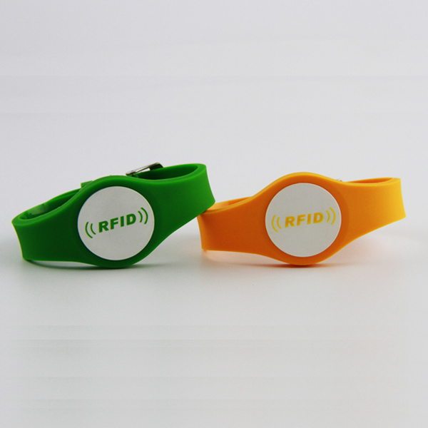 NFC RFID silicone wristband
