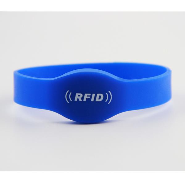 TK4100 silicone rfid wristband