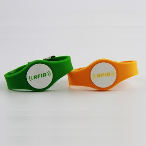 flexible rfid silicone wristband