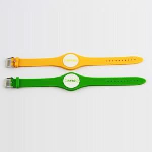 flexible rfid silicone wristband