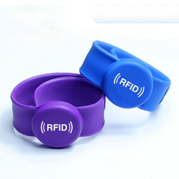 flexible silicone rfid wristbands