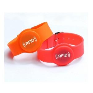nfc silicon wristband