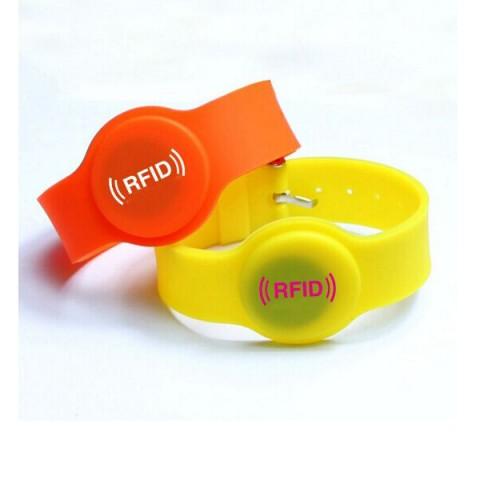 rfid silicone bracelet wristband watch