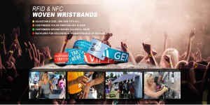 Custom RFID wristbands for events now