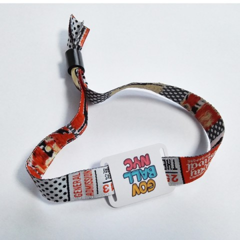 RFID cloth event wristbands for EXpo