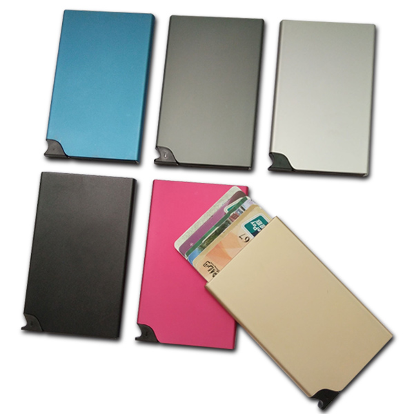 Automatic POP-UP Credit Card Wallet RFID Blocking Card Protector