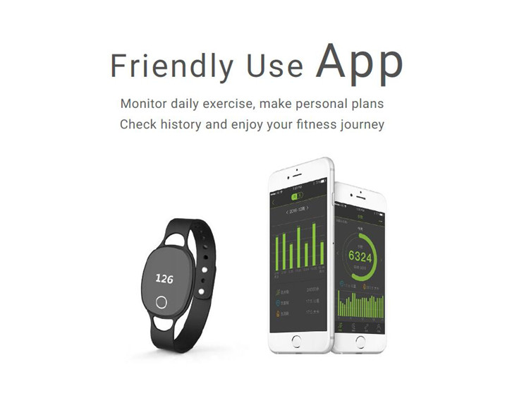 rfid smart pedometer watch