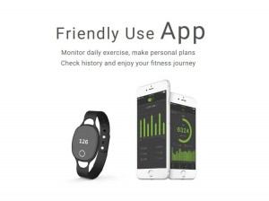 wristband activity tracker