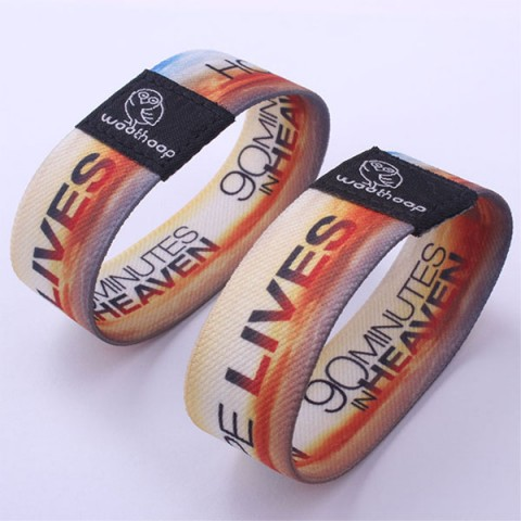 Stretch Fabric RFID bracelet