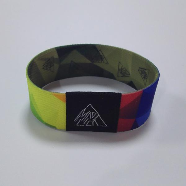 Custom LOGO RFID Stretch Wristband Strap PVCTag MIFARE