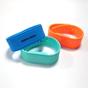 security access nfc silicone wristband